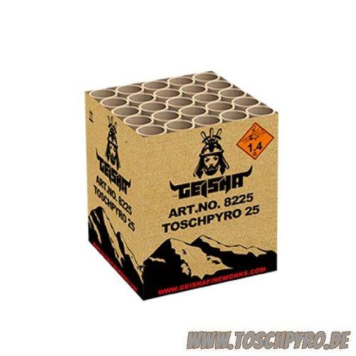Toschpyro Batterie 25