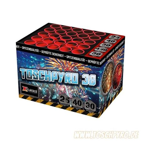 Toschpyro Batterie 38
