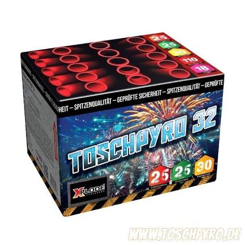 Toschpyro Batterie 32