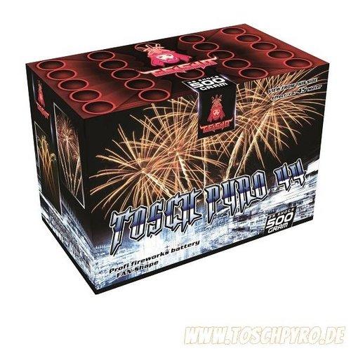 Toschpyro Batterie 44 / Pinstribes