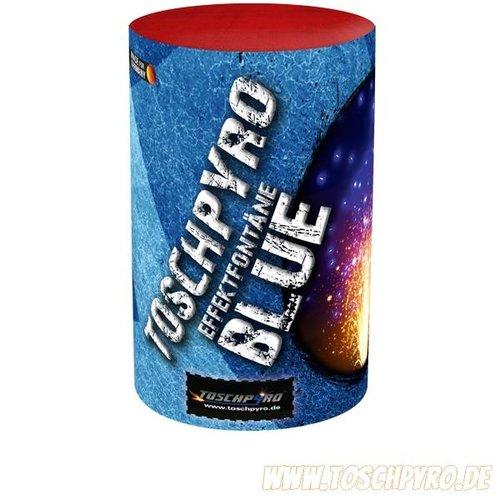 Toschpyro® Effektfontäne mit blauer Überraschung