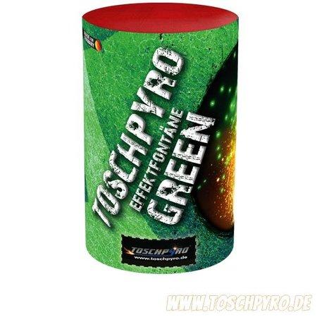 Toschpyro Effektfontäne Grün