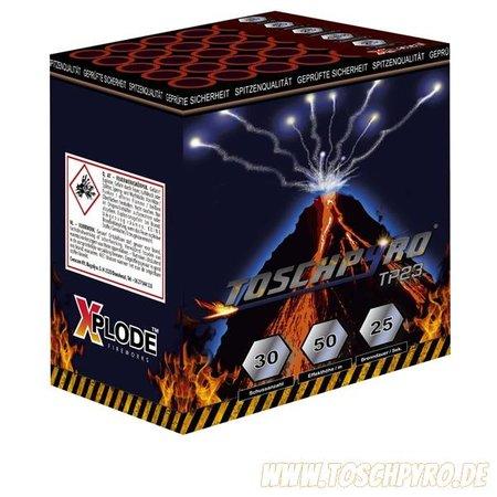 Toschpyro Batterie 23 , Neu