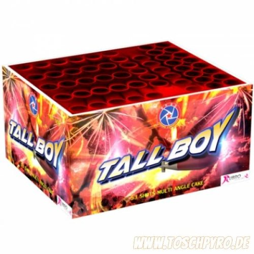 Rubro Fireworks Tall Boy