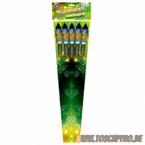 Rubro Fireworks Speed Rockets, Raketenset