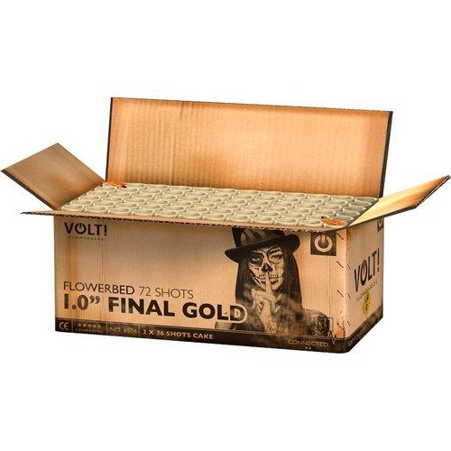 """VOLT! Flowerbeds 1,0"""" Final Gold"""