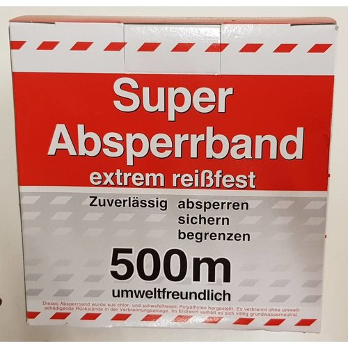 Super Absperrband 500m