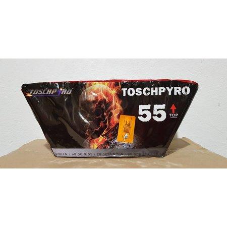 Toschpyro Batterie 55