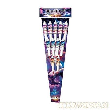 Rubro Fireworks Aquarius-Rockets, Raketenset