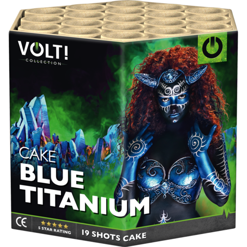 VOLT! Collection Blue Titanium