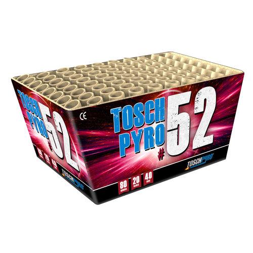 Toschpyro Batterie 52 (Toschpyro Disco 80´s)