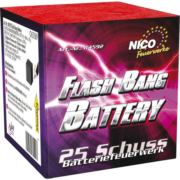 Flash Bang Battery