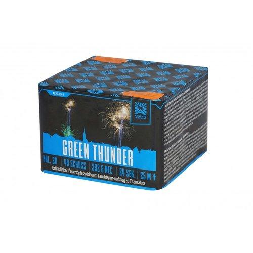 Argento Feuerwerk Green Thunder 2er