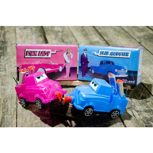 Xplode Pink-Lady / Blue-Mobster