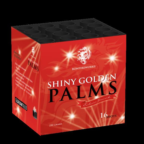 Shiny Golden Palms