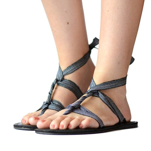 Sandals Black & White