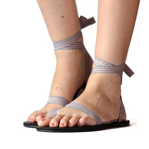 Sandals Blue & Pink