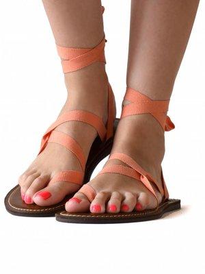 Sandals Peach