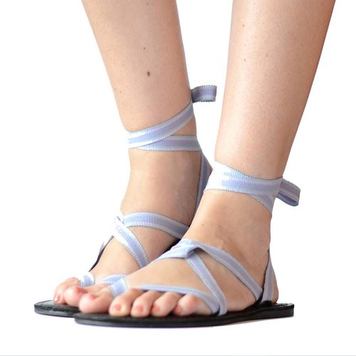 Sandals Pastel blue