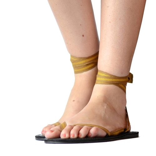 Sandals Golden line