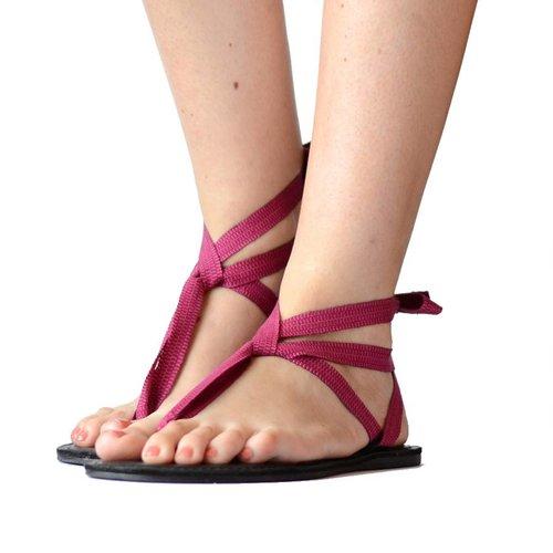 Sandals Dark pink