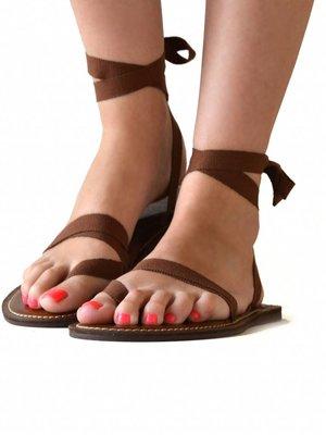 Sandals Brown Sugar