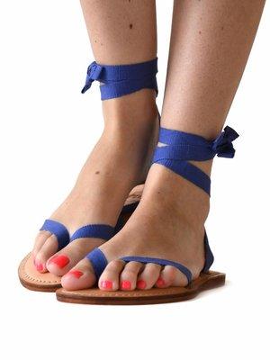 Sandalen Blauw Violet