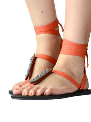 Sandals Coral