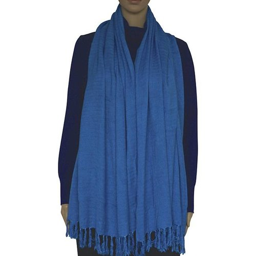 Shawl Light Blue