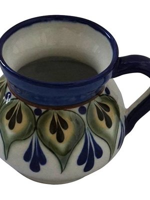 Stoneware mugs Green