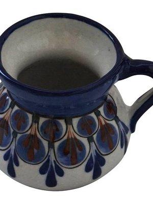 Stoneware mugs  Blue