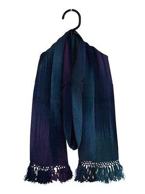Sjaal Bamboo Blauw Paars