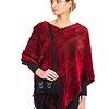 Poncho Red - Beautiful & Fairtrade
