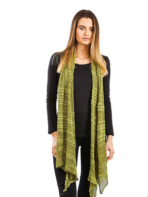 Shawl Lime green