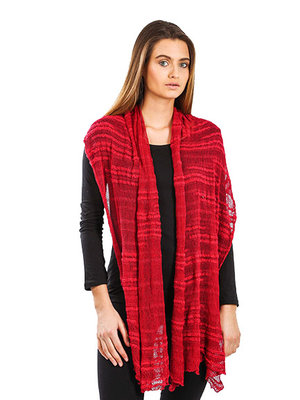 Omslagdoek Crimson Red