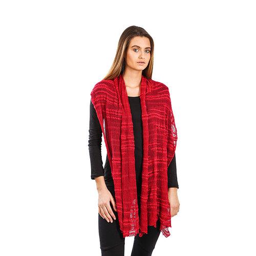 Shawl Red Crimson