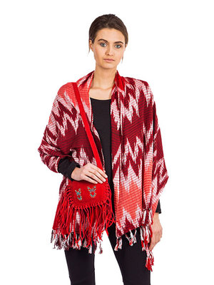 Omslagdoek Ikat Fire