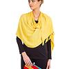 Shawl Yellow - Natural Dyes - Fairtrade