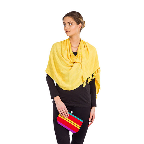 Shawl Yellow