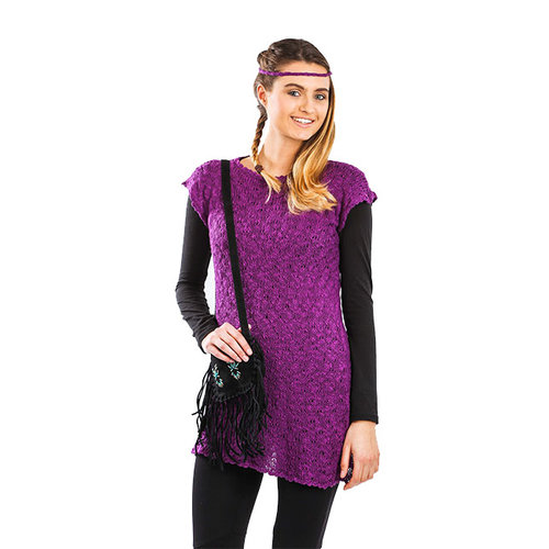 Tunic Dress Wild Orchid