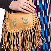 Shoulder Bag Light Brown - Moosehide