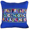 Mayan Cushion Cover Blue - Lovely & Fairtrade