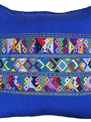 Maya kussenhoes Blauw