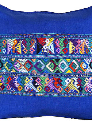 Mayan cushion covers Blue