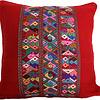 Mayan Cushion Cover Red - Fairtrade