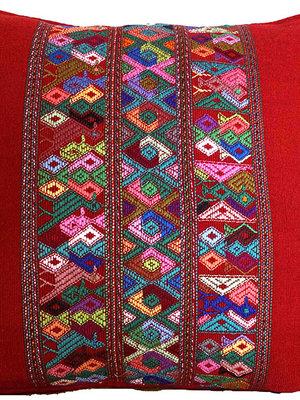 Maya kussenhoes Rood
