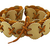 Ladies Belt Natural Yellow - Pretty and Supple