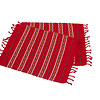 Red Crimson Placemats Set 2 - Fairtrade
