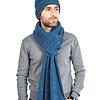 Sjaal en Muts Oceaanblauw