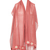 Shawl Coral - Fashionable and Fairtrade